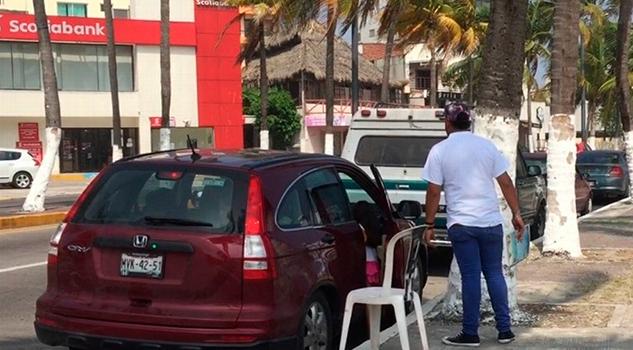 Turistas Quejan Cobro Franeleros Veracruz