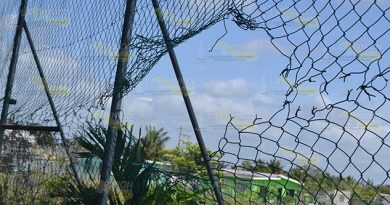 Vandalismo Unidad Deportiva