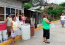 Vecinos protestan por falta de agua