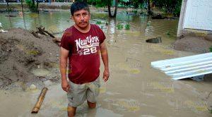 Viviendas Quedan Inundadas Tras Atípica Lluvia
