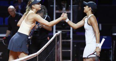 Sharapova pierde en primera ronda de Stuttgart