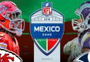 "NFL: Jefes vs. Carneros será ""Monday Night"" en el Estadio Azteca"