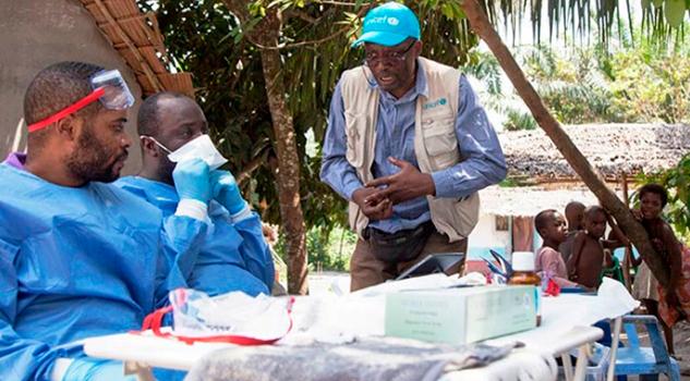 Aplican Vacunas Localidades Afectadas Ébola Congo