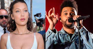 Bella Hadid The Weeknd Fueron Capturados Besándose