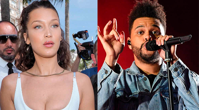 Bella Hadid The Weeknd Fueron Capturados Besándose