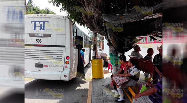 Choferes Autobuses Imponen Desorden