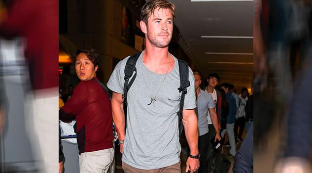 Chris Hemsworth Baila Ritmo Miley Cyrus