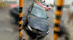 Cuantiosos Daños Deja Choque Entre Taxi Auto Particular