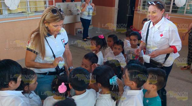 Damas Voluntarias Continúan Colecta Cruz Roja