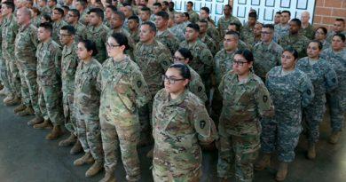 Despliega EU Frontera México 2,400 Soldados