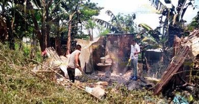 Incendian Humildes Viviendas