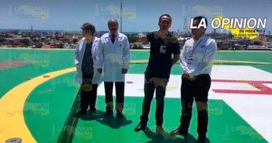 Inicia Operaciones Helipuerto Hospital Regional ISSSTE Ciudad Veracruz