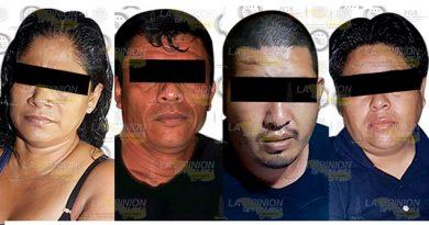 Libera PGR Víctima Secuestro Capturan Cuatro Delincuentes