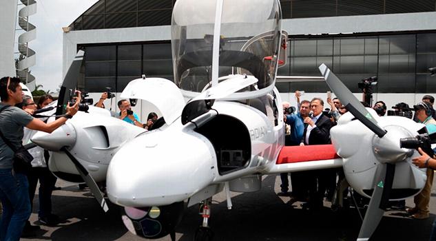 Muestran Aviones Vigilarán Veracruz