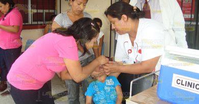 Niños Tancoco Inmunizados