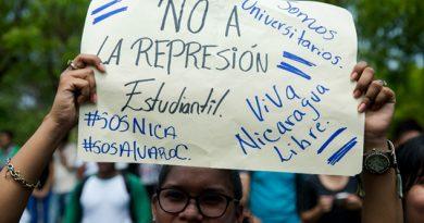 Nicaraguenses Exigen Cese Represión