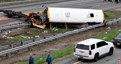 Par Muertos Decenas Heridos Accidente Nueva Jersey