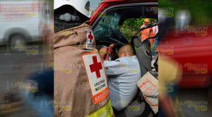 Pareja Muere Prensada Autopista México Tuxpan
