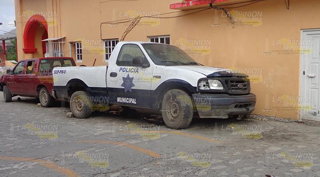 Policía Municipal Chumatlán Sin Patrulla