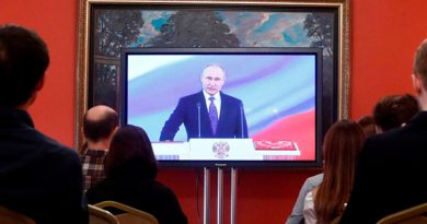 Putin Jura Cuarto Mandato Presidente Rusia