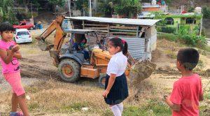 Reinician trabajos en primaria Adolfo Ruíz Cortines