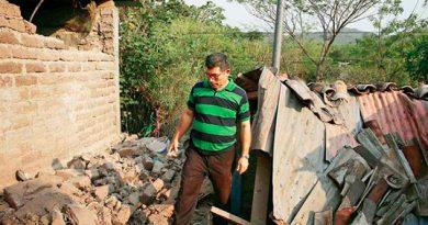 Reportan 1,291 Damnificados Terremotos El Salvador