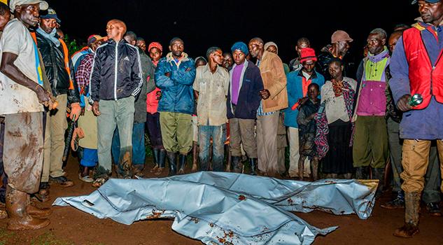 Rotura Presa Kenia Deja Varios Muertos Desaparecidos