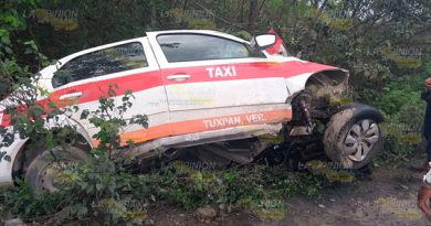 Taxista Muere Accidente