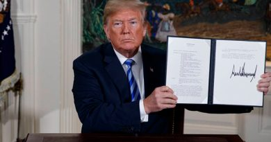 Trump Rompe Pacto Nuclear Irán Restablece Sanciones