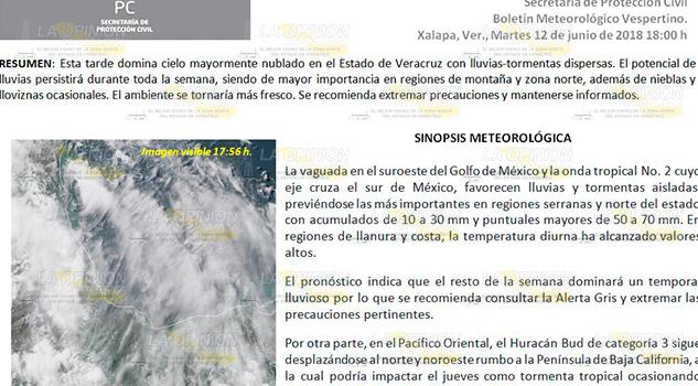 Alerta Gris En El Estado Veracruz