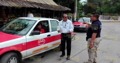 Alrededor 10% Taxis No Ha Cumplido Revista