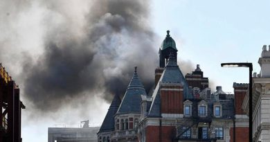 Arde Lujoso Hotel Centro Londres