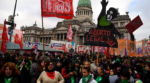 Argentina Vota Dividida Despenalización Aborto