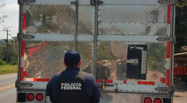 Asegura Policía Federal 6 Mil Litros Hidrocarburo Orizaba