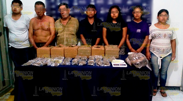 Cae Presunta Banda Narco Menudista