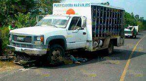 Camioneta Atropella Mata Peatón
