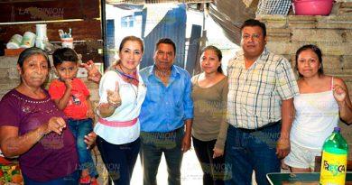 Con Apoyo Gente Paty Valencia Demostrará Puede Avanzar