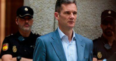 Cuñado Rey España Entra Prisión