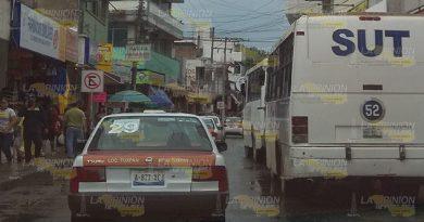 Exigen Frenar Taxis Colectivos