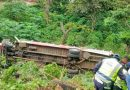 Camión de estudiantes cayó a río y dejó 8 muertos en Guatemala