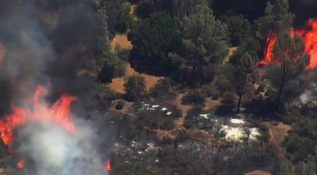 Incendio California Quema 5,463 Hectáreas