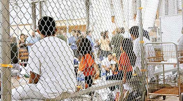 Indignan Jaulas Niños Migrantes EU Justifica Tolerancia Cero