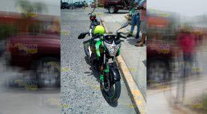 Joven Motociclista Embestido Camioneta Tuxpan
