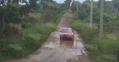 Lluvias Provocan Daños Caminos Rurales Tuxpan