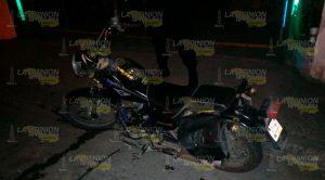 Motociclista Impacta Contra Puesto Tacos