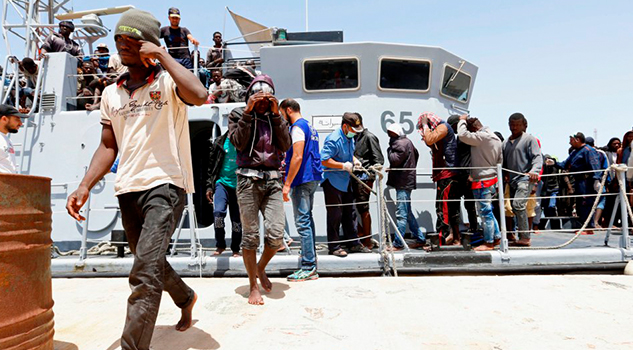 Naufragio Costa Libia Deja Centenar Desaparecidos