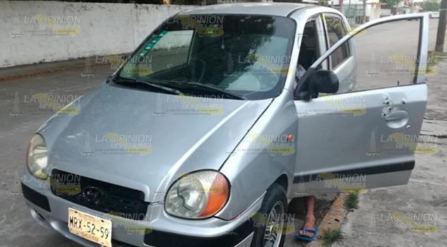 Persona Acribillada Automóvil Tuxpan