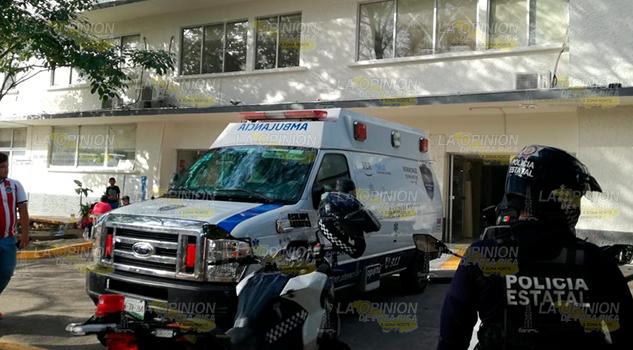 Persona Tercera Edad Fallece Hospital Civil Tuxpan