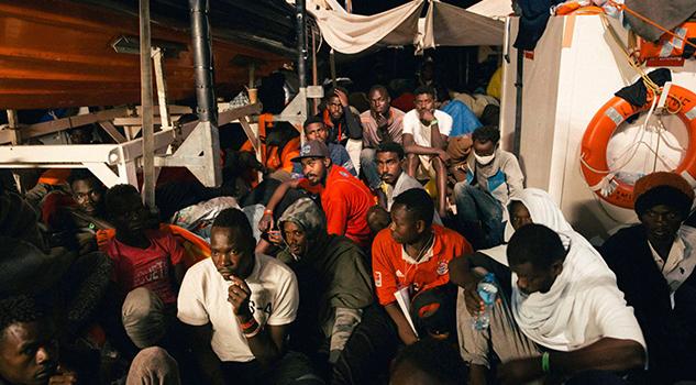 Prefieren Morir Mar Volver Libia