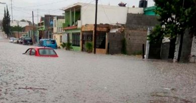 Rescatan Familias Saltillo Fuertes Lluvias
